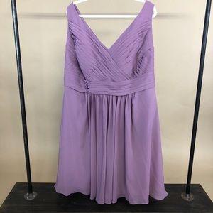 Azazie Bridesmaids Dress Grace Wisteria
